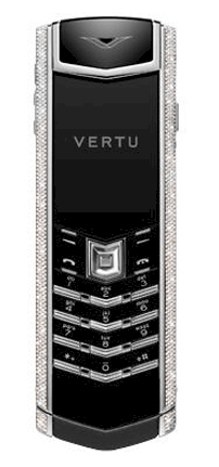 Vertu Signature S Baguette Diamond White Gold