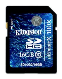 Kingston SDHC 16GB (Class 10)