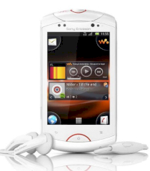 Sony Ericsson Live with Walkman (Sony Ericsson WT19i) White