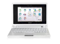 ASUS Eee PC4GS-W004 Netbook White (Intel Celeron M 900MHz, 512MB RAM, 4GB HDD, VGA Intel GMA 900, 7 inch, Linux)