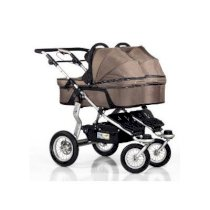 Xe đẩy đôi Trends For Kids Single Carrycot for Twinner Twist Duo, Mud