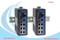 Switch Công Nghiệp 3ONEDATA 1 Cổng Quang + 7 Cổng Fast Ethernet