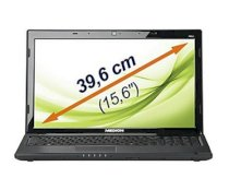 Medion Akoya P6512 (AMD Athlon II X2 P320 2.10GHz, 3GB RAM, 320GB HDD, VGA ATI Radeon HD 5470, 15.6 inch, Windows 7 Home Premium 64 bit)