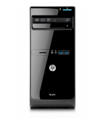 Máy tính Desktop HP Pro 3400 Microtower PC (XZ939UT) (Intel Core i3-2120 3.30GHz, RAM 2GB, HDD 500GB, VGA Intel HD Graphics, Windows 7 Professional 32, Không kèm màn hình)