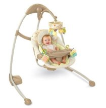 Bright Starts Ingenuity Cradle and Sway Swing, Bella Vista 7064