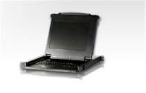 """Mini station ATEN 17"""" Slideaway LCD Console 8-port KVM Switch (CL1008M-AT-AE)"""