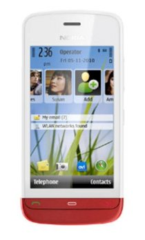 Nokia C5-06 White/Red