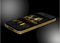 Apple iPhone 4 gold diamond swarovski 32G (bản quốc tế)