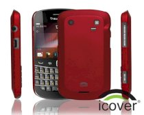 iCover BlackBerry 9900 Rubber (Red)