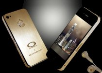 Goldstriker Apple iPhone 4S BILLIONAIRE TOYS Gold edition