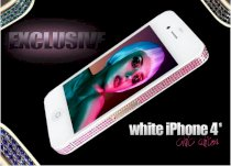 Goldstriker Apple iPhone 4S Chic edition White