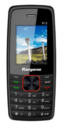 Mobile Kangaroo K12 Black Red