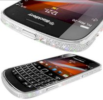 Goldstriker BlackBerry 9900 Platinum & Crystal Edition