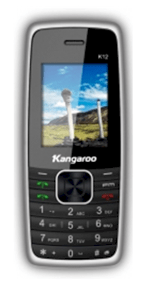Mobile Kangaroo K12 White Black