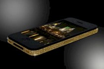 Goldstriker Apple iPhone 4S Crystal & Gold Edition