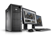 HP Z800 Windows Workstation (FF825AV) E5640 (Intel Xeon E5640 2.66GHz, RAM 3GB, HDD 250GB, VGA NVIDIA Quadro 600, Windows 7 Professional 64-bit, Không kèm màn hình)