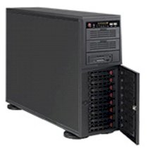 SuperWorkstations SS7046TG-TRF (Intel Xeon E5600/5500 series, Up to 192GB RAM, 8 x 3.5 HDD, Power supply 1400W, Windows 7 Ultimate, Không kèm màn hình)