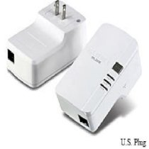 TrendNet 200Mbps Powerline AV Adapter Kit TPL-303E2K