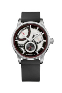 Đồng hồ Hugo Boss Watch, Men's Automatic Black Silicone Strap 1512596