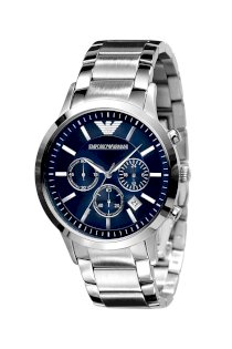 Đồng hồ Emporio Armani Watch, Men's Stainless Steel Bracelet AR2448