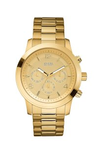 Đồng hồ Guess Watch, Chronograph Goldtone Stainless Steel 45mm U15061G2