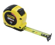 "Stanley MAX 33-691 - 12' x ¾"" Tape Measure with AirLock"
