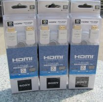 Cable Sony High Speed HDMI 1.4-3D Ethernet  DLC-HE20HF (2m)