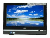 Máy tính Desktop Acer Aspire AZ1620-UR10P (PW.SGQP2.008) All-in-One (Intel Pentium Dual-Core G630 2.7GHz, 4GB RAM, 500GB HDD, GMA Intel HD Graphics, LCD 20 Inch, Windows 7 Home Premium 64 bit)