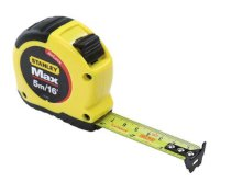 "Stanley MAX 33-695 - 5M/16' x ¾"" Tape Measure with AirLock"