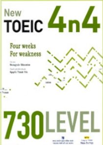 New Toeic 4n4 four Weeks For Weakness -730 Level