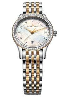 Đồng hồ đeo tay Maurice Lacroix Les Classiques Date ladies watch features a mother-of-pearl dial Model LC1026-PVY23-170
