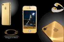 Goldstriker Apple iPhone 4s 24ct gold Ambassador Edition