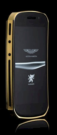 Mobiado Grand Touch Aston Martin Yellow Gold with Ebony Wood