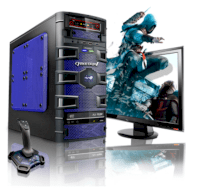 Máy tính Desktop CybertronPC Slayer FX Octa-Core Gaming PC (GM2221G) FX 6100 (AMD FX 6100 3.30GHz, RAM 8GB, HDD 2TB, VGA Radeon HD5450, Microsoft Windows 7 Home Premium 64bit, Không kèm màn hình)