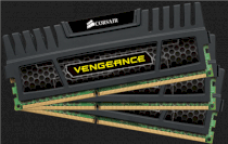 Corsair Vengeance (CMZ12GX3M3A1600C9) - DDR3 - 12GB (3 x 4GB) - Bus 1600MHz - PC3 12800 kit