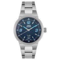 Oris Men's 63575604165MB Williams F1 Team Collection Automatic Stainless Steel Watch