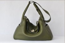 Hermes Lindy 34 Togo Olive green Phw T9142-19
