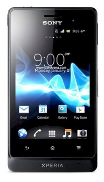 Sony Xperia Go (ST27i / ST27a) (Sony Xperia advance) Black