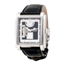 Orient Men's CFHAD004B Power Reserve Semi Skeleton Watchwith Leather Band