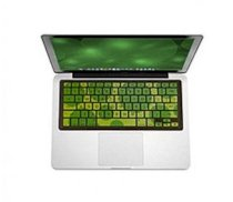 iSkin Protouch Vibes Apple MacBook/Pro/Air GREEN DRAGONFLY keyboard cover