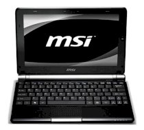 MSI Wind U160-N051 (252XVN) (Intel Atom N450 1.66GHz, 1GB RAM, 160GB HDD, VGA Intel GMA 3150, 10 inch, PC DOS)
