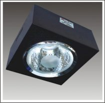 Ceiling Lamp Anfaco Lighting AFC308A glass 2E27