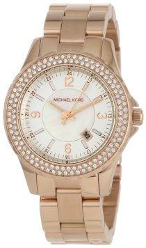 Michael Kors - Quartz Classic Gold with White Dial Women's Watch - MK5403