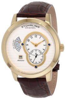 Stuhrling Original Men's 135A.33352 Lifestyle 'Eclipse II' Automatic Date Watch