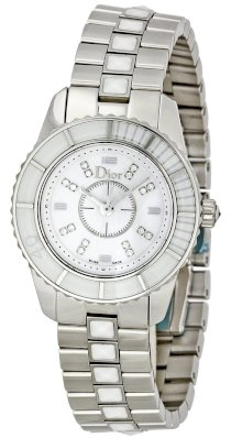 Christian Dior Women's CD112112M002 Christal Stainless-Steel Bracelet Watch