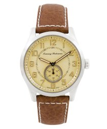 Tommy Bahama Men's TB1169 Swiss Leather Paradise Aviator Strap Watch