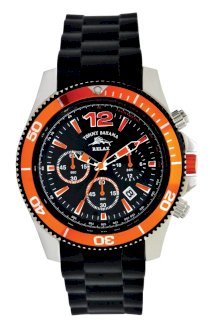 Tommy Bahama RELAX Men's RLX3017 Haverstraw Diving Bezel Chronograph Black Dial Watch
