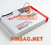 Pin Yoobao cho BlackBerry Curve 9220, Storm 2 9550, Storm 2 9520, Curve 8930