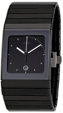 Rado Men's R21717152 Ceramica XL Black Dial Watch