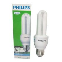 Compact Philips Essential 8W - 2U trắng